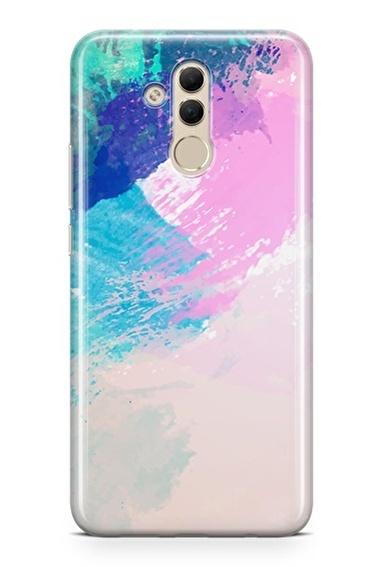 Lopard Huawei Mate 20 Lite Kılıf Fırçaların Dansı Kapak Renkli